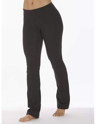 998b6b347e at Walmart.com · Bally Total Fitness Women s Core Active Barely Flare Yoga  Pant