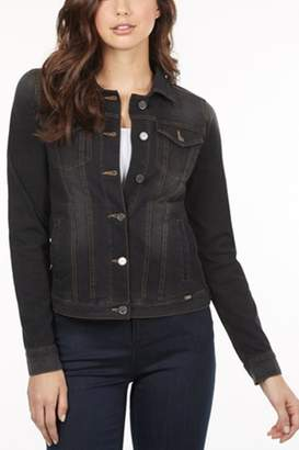 French Dressing Jeans Black Jean Jacket