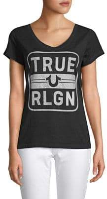 True Religion Embellished Cotton Tee