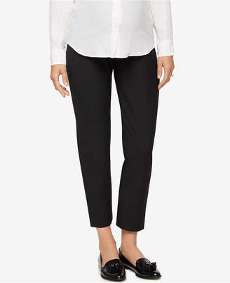 A Pea in the Pod Straight-Leg Maternity Dress Pants $98 thestylecure.com