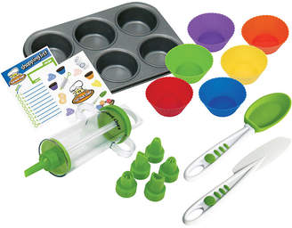 CURIOUS CHEF Curious Chef 16-pc. Kids Cupcake and Decorating Kit
