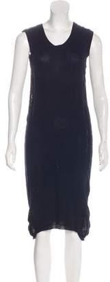 Maison Margiela Knit Sleeveless Midi Dress
