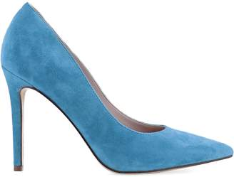 Nine West Timeout Leather Point Toe Pumps