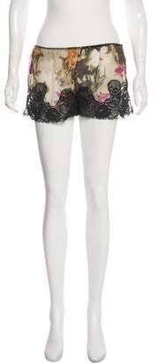 Burberry Lace Mini Shorts