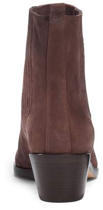 Michael Kors Patrice Leather Ankle Boot