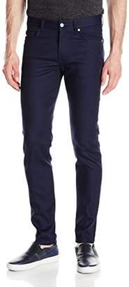 J. Lindeberg Men's Jay Settled Blue Jeans