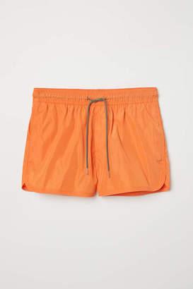 H&M Short Swim Shorts - Orange - Men