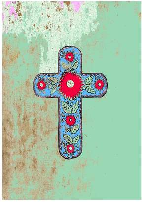 Jessica Russell Flint - The Mexican Cross Limited Edition Signed Print