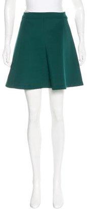 Sandro A-Line Mini Skirt $75 thestylecure.com