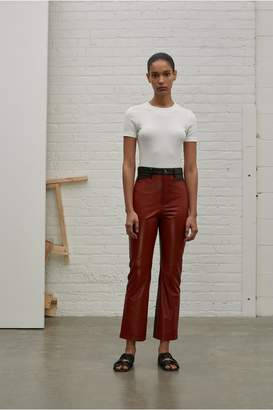 Rosetta Getty Color Blocked Leather Pant