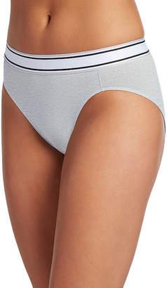 Jockey Retro Stripe Knit High Cut Panty- 2254