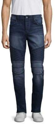 True Religion Rocco Slim Biker Jeans