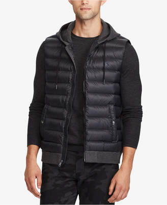 Polo Ralph Lauren Men's Big & Tall Double-Knit Down Vest