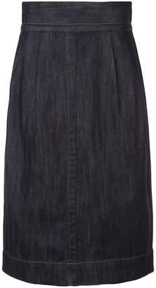 Marc Jacobs denim straight skirt