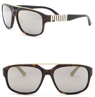 Puma Idol 58mm Navigator Sunglasses
