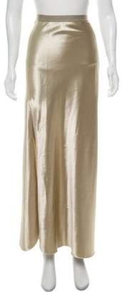 Nili Lotan Metallic Maxi Skirt