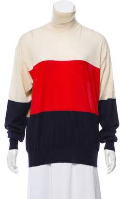 Celine Cashmere Colorblock Sweater