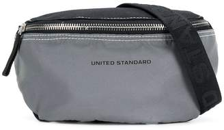 United Standard logo strap waist bag