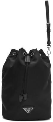 Prada Black Bucket Pouch