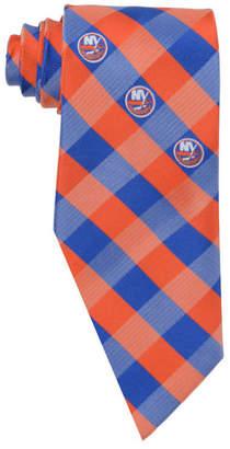 Eagles Wings New York Islanders Checked Tie
