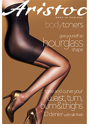 Aristoc 10 Denier Hourglass Tights, Nude