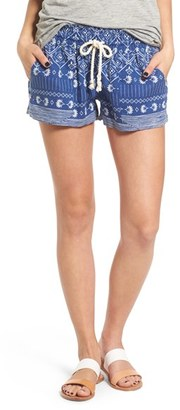 Roxy Oceanside Print Shorts $38.50 thestylecure.com