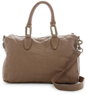 Liebeskind Berlin Pavla Vintage Leather Satchel $278 thestylecure.com