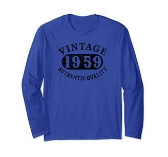60 year old 60th B-day Birthday Gift 1959 Long Sleeve Shirt