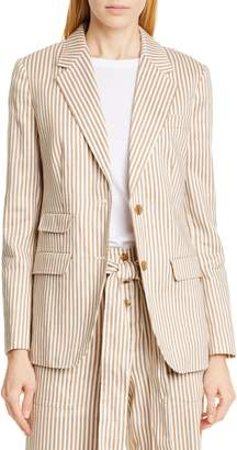 Tory Burch Stripe Blazer