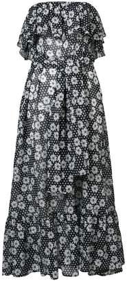 Lisa Marie Fernandez strapless floral dress