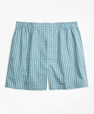 Brooks Brothers Traditional Fit Mini Multi-Check Boxers
