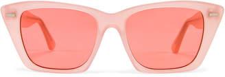 Acne Studios Ingridh Sunglasses in Pink & Pink | FWRD
