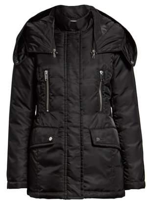 Andrew Marc Flight Satin Puffer Jacket