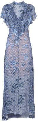Preen by Thornton Bregazzi Lyla Ruffle Printed Dress