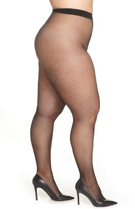 Hanes Curves Dot Net Tights