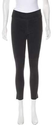 IRO Leather Mid-Rise Leggings w/ Tags