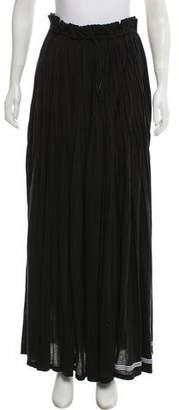 Y-3 Pleated Maxi Skirt