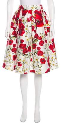 Dolce & Gabbana Floral Knee-Length Skirt