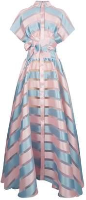 Alexis Mabille Colour Block Shirt Dress
