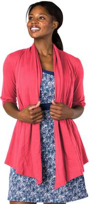 Soybu Women's Cabana Yoga Cardigan