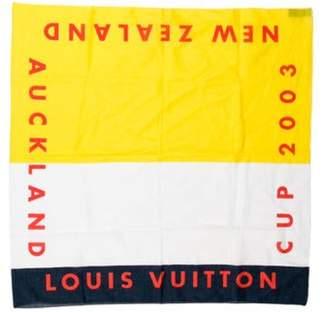 Louis Vuitton Cup 2003 Bandana navy Cup 2003 Bandana