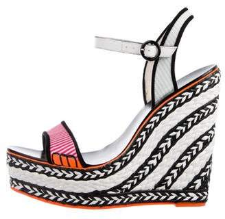 Sophia Webster Sandal Wedge Pumps