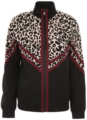 N°21 N.21 Track Jacket With Leopard Print