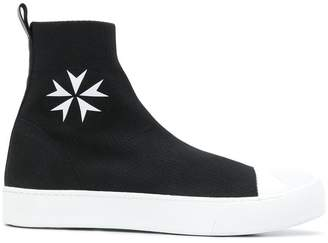 Neil Barrett Sock skate hi-top sneakers