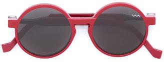 Vava round shaped sunglasses $513.05 thestylecure.com
