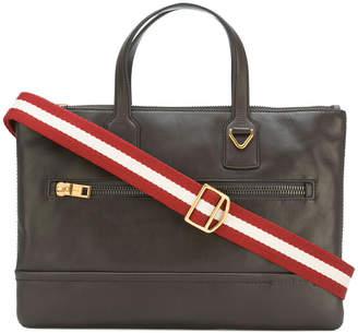 Bally zipped briefcase