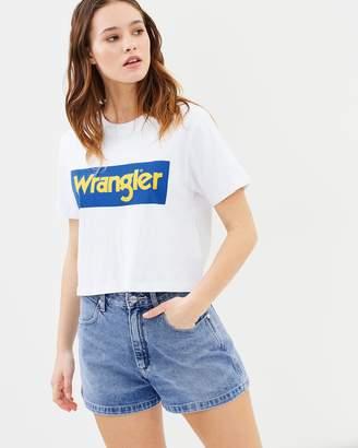 Wrangler Hi Bells Shorts