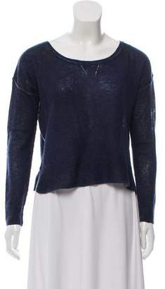 360 Cashmere Cashmere Cropped Sweater