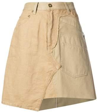 Loewe asymmetric A-line skirt