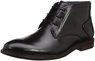 Steve Madden Footwear Men's Bowen Lace Up Derbys, (Black), 45 EU